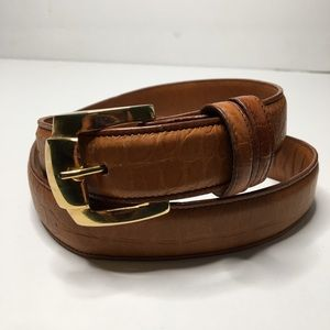 Joan & David Leather Belt